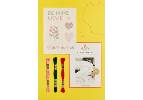 DMC DMC Magic Paper Kit - Love 1