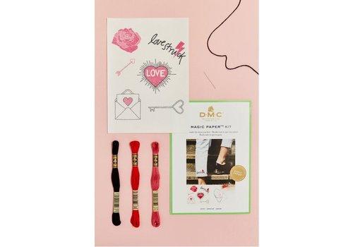 DMC DMC Magic Paper Kit - Love 2
