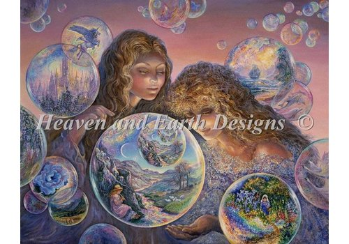 Heaven and Earth Designs  Josephine Wall: Bubble World