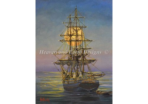 Heaven and Earth Designs  John Bradley: Moonlit Moorings