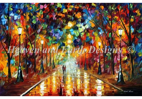 Heaven and Earth Designs  Leonid Afremov: Farewell to Anger