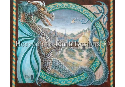Heaven and Earth Designs  Vicki Visconti-Tilley: Celtic Dragon Lands