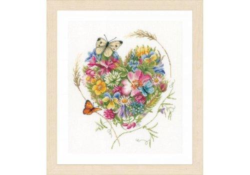 Lanarte A heart of flowers