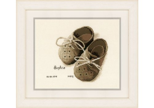 Vervaco Geboortetegel - Eerste Schoentjes