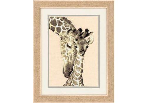 Vervaco Twee giraffen