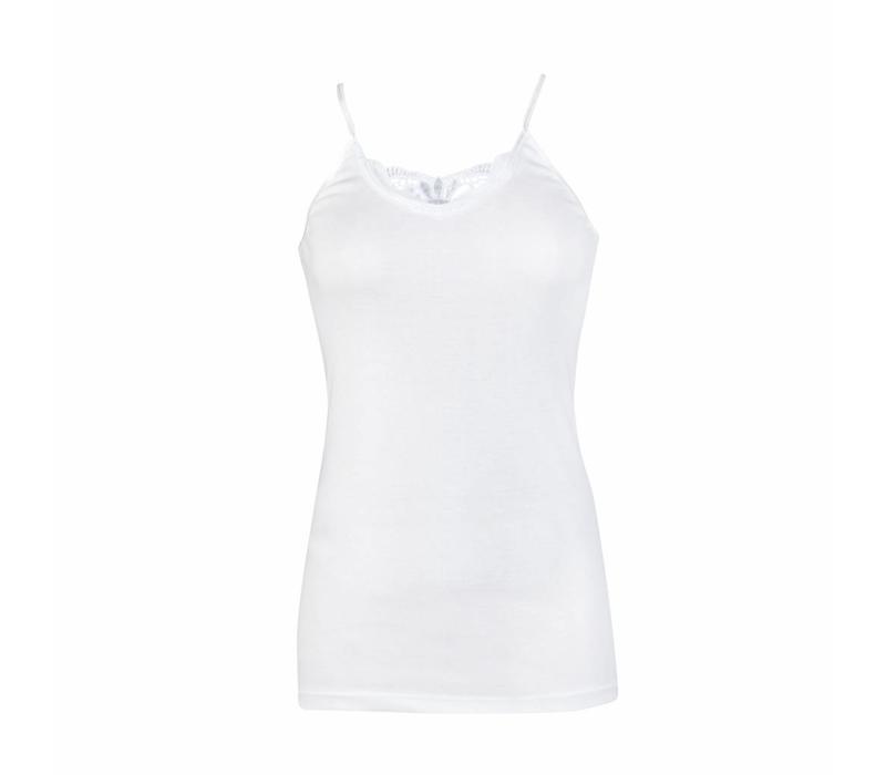 Beeren Dames hemd Jessica met pas Wit