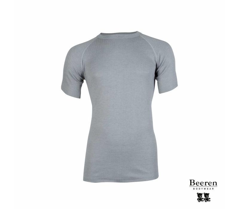 Beeren unisex Thermo shirt Korte Mouw Grijs