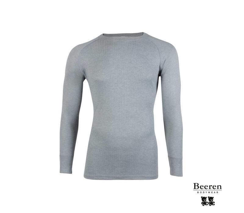 Beeren unisex Thermo  shirt Lange mouw Grijs