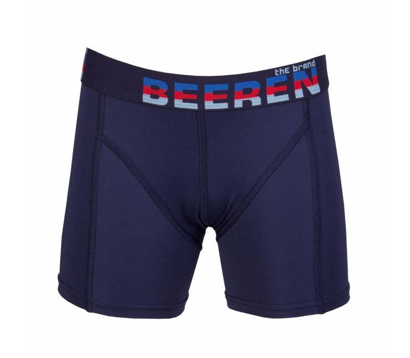 Beeren Ondergoed Jongens Boxershort Elegance Donker Blauw