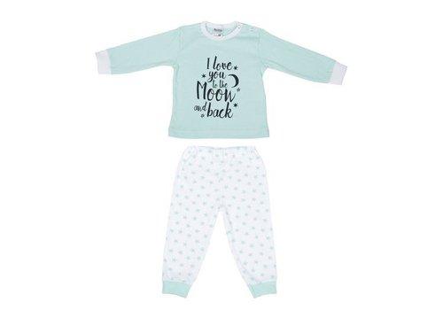 Beeren Ondergoed Beeren Baby Pyjama to the Moon Mint