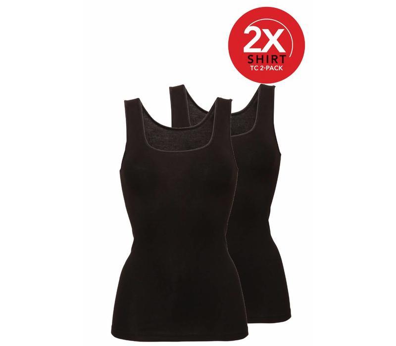 Ten Cate Dames Shirt 2-pack Zwart