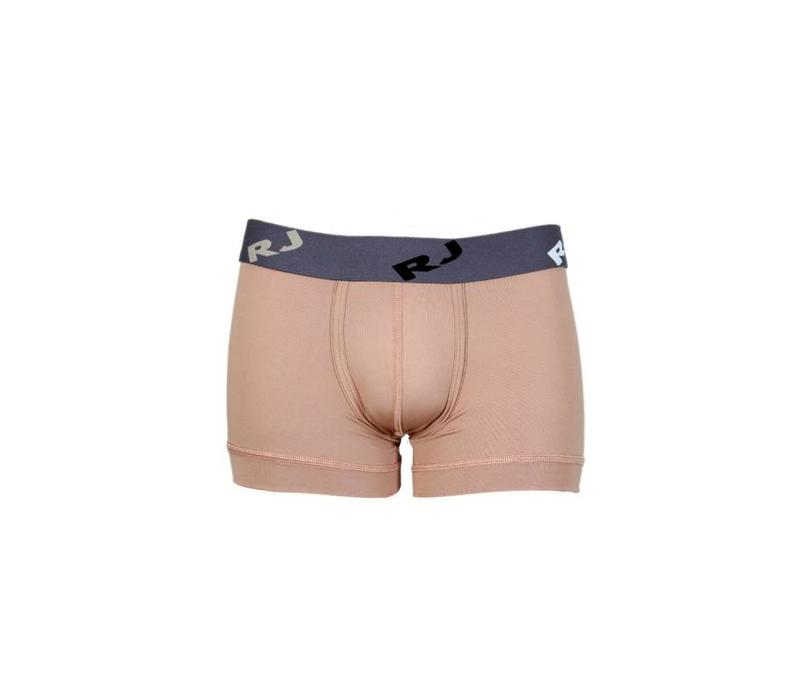 RJ Bodywear Pure Color Heren Trunk Zand