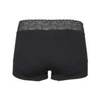 RJ Bodywear Pure Color Lace Dames Short Zwart