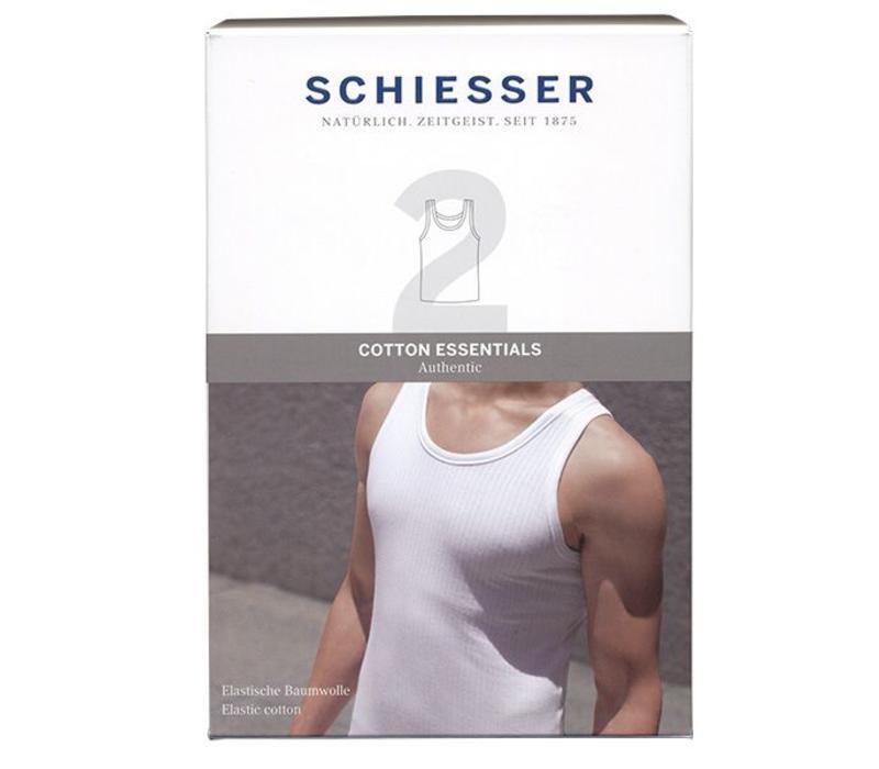 Schiesser Singlet essential 2-pack