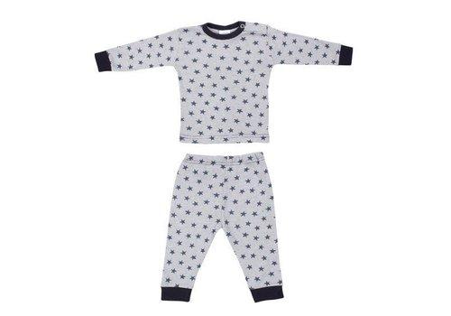 Beeren Ondergoed Beeren Baby pyjama Stripe/Star Blauw