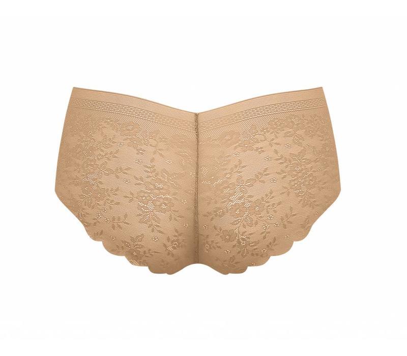Sloggi  Dames Zero lace short Huidskleur
