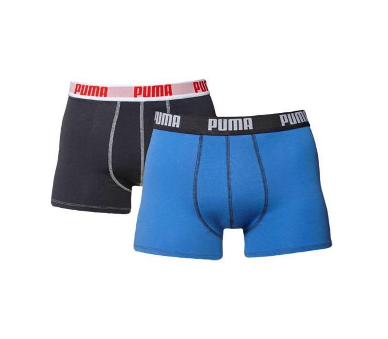 Puma Heren Boxer 4-pack Blauw