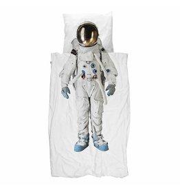 Snurk beddengoed Dekbedovertrek astronaut  1 persoons