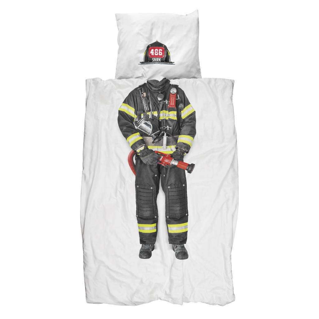 Bettbezug Feuerwehrmann 1 Sitzer