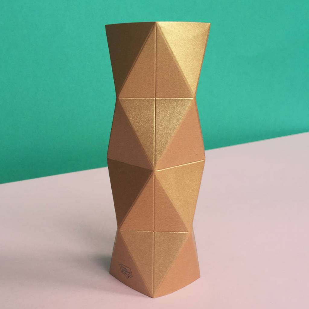 Card-Vase Xoxo Copper