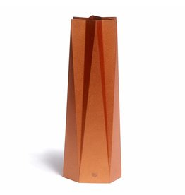 Happy Whatever Karte-Vase stehen aus Kupfer