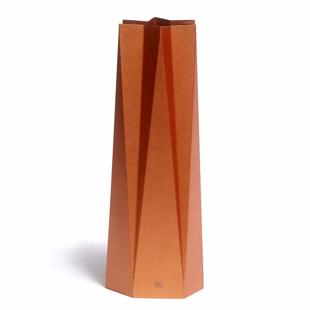 Kaart-Vaas Stand Out Copper