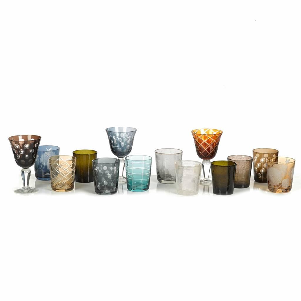 Drinking glasses Tumbler Set of 6