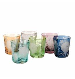 Pols Potten Peony Drinkglas Set van 6