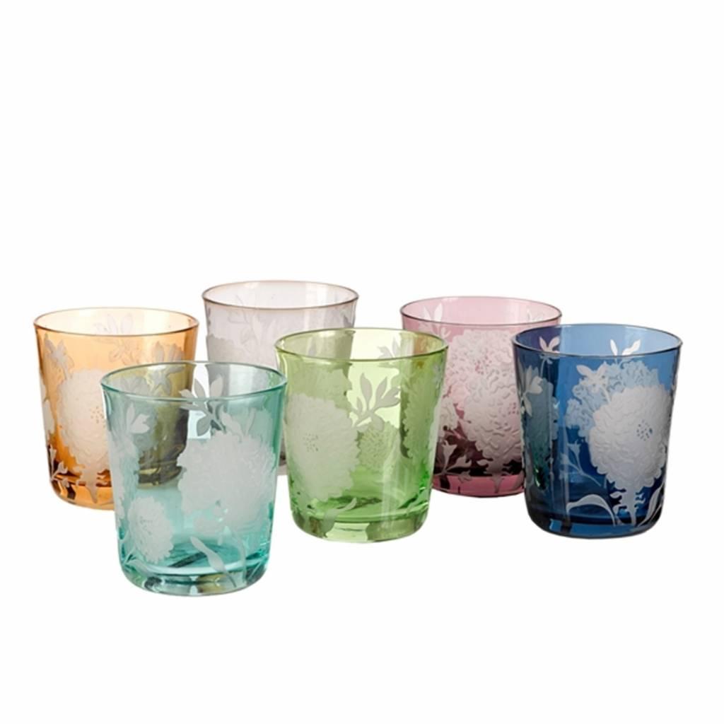 Peony Drinkglas Set van 6