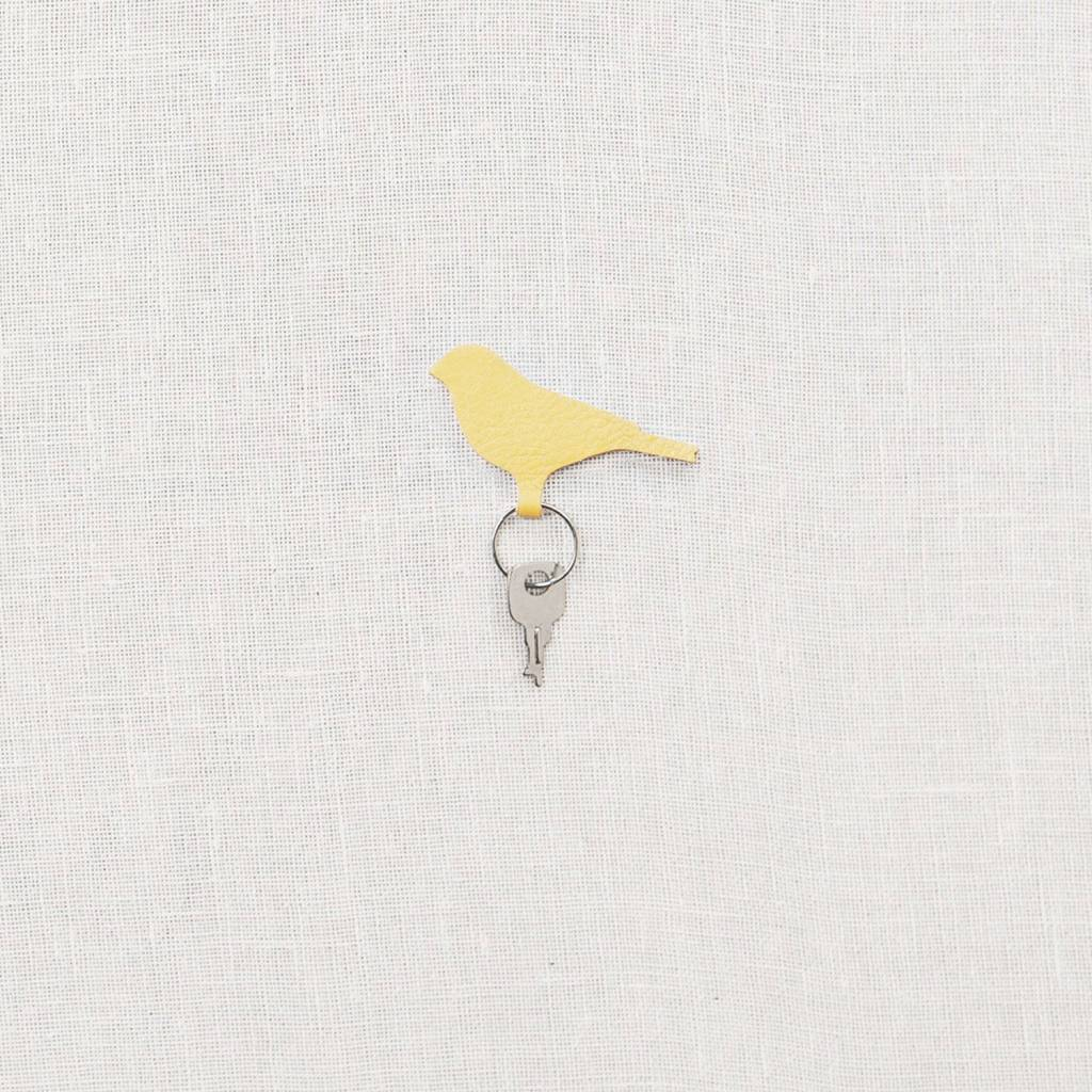 Sleutelhanger Mini Tweet yellow