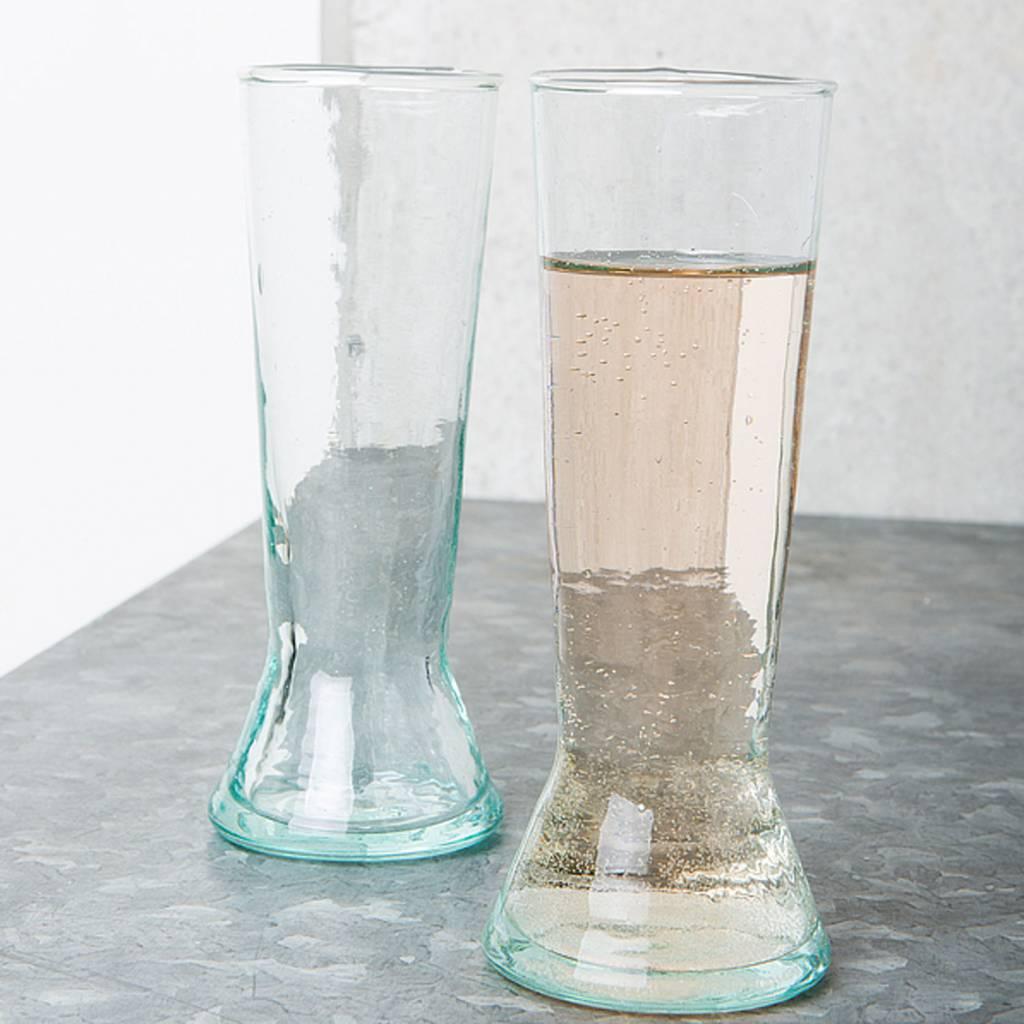 Champagne glass set / 4