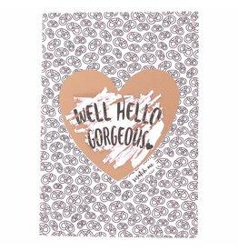 WowGoods Rubbelkarte - Nun, hallo, wunderschön