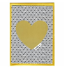 WowGoods Kraskaart - Bonjour Mon Amour