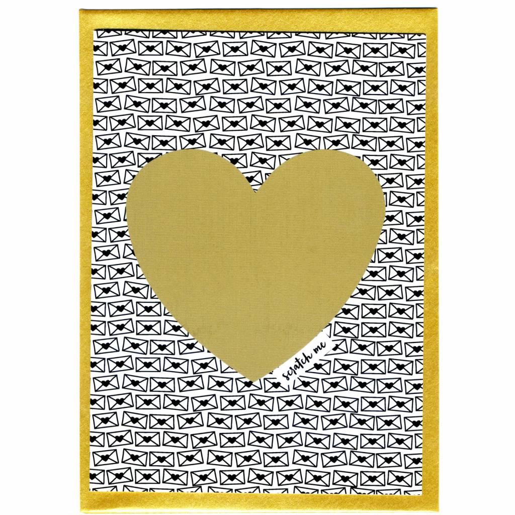 Kraskaart - Bonjour Mon Amour