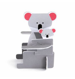 Studio ROOF Koala pop out kaart