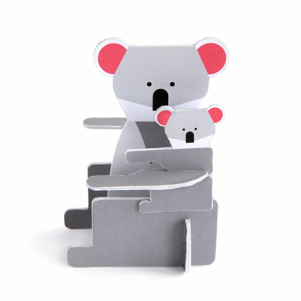 Koala pop out kaart