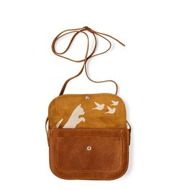Keecie Tasche Cat Chase Cognac