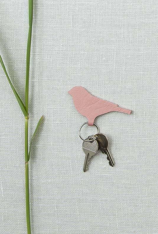 Sleutelhanger Mini Tweet soft pink