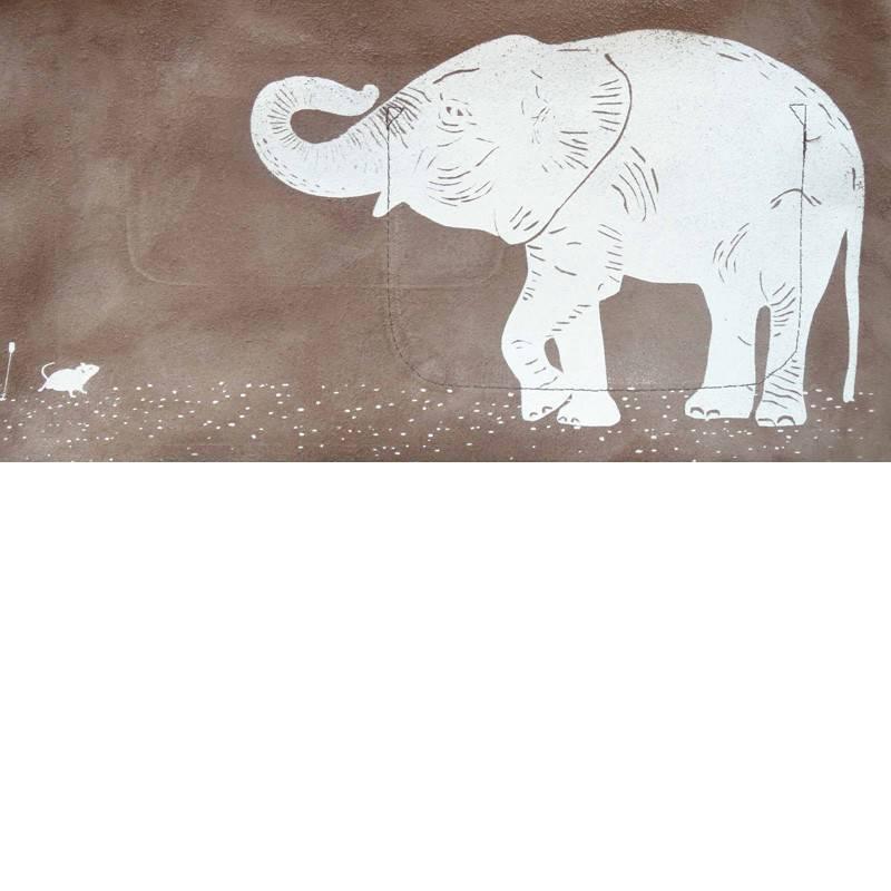 Tas Elephant Joke Moss