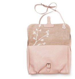 Keecie Tas Flora & Fauna Soft Pink