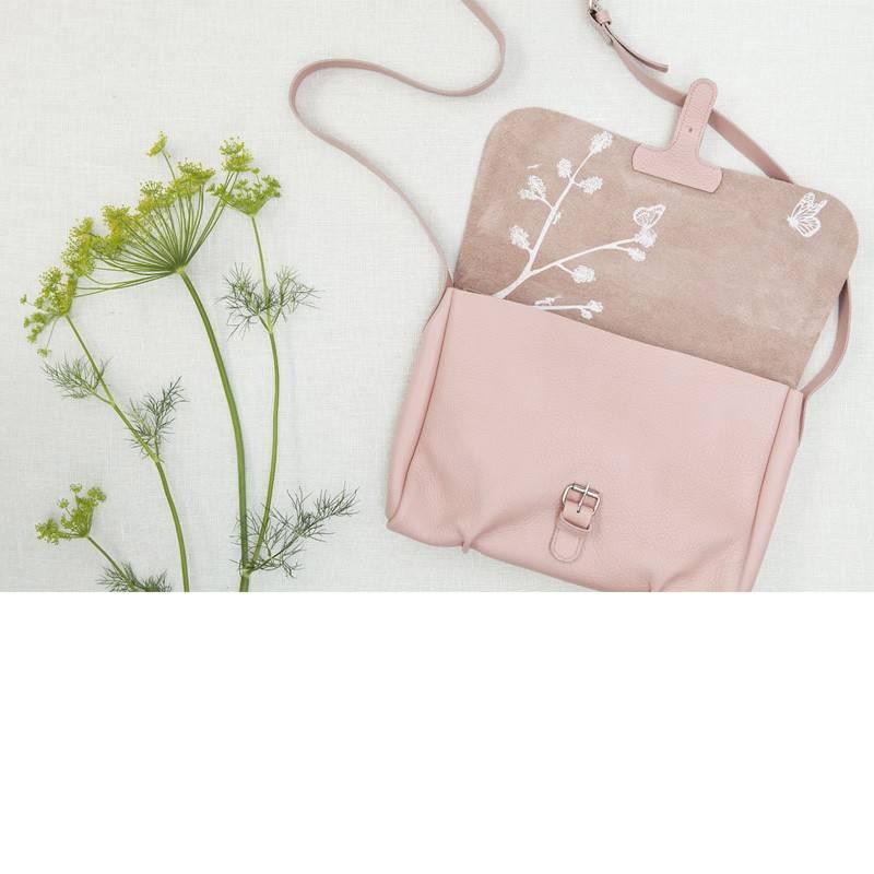 Tas Flora & Fauna Soft Pink