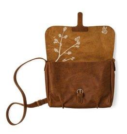 Keecie Tasche Flora & Fauna Cognac