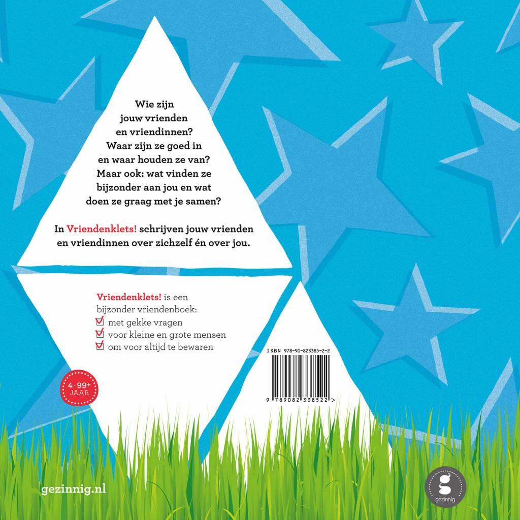 Vriendenklets Boek Blauw