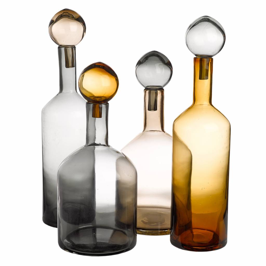 Bubbles & Bottles Chic Mix set/4