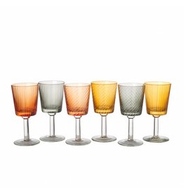 Pols Potten Wine Glasses Library Set of 6