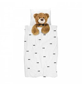Snurk beddengoed Dekbedovertrek Teddy 1 persoons
