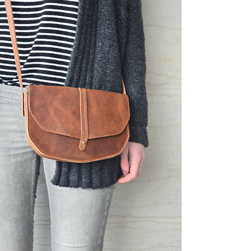 Move Mountains Tasche Cognac