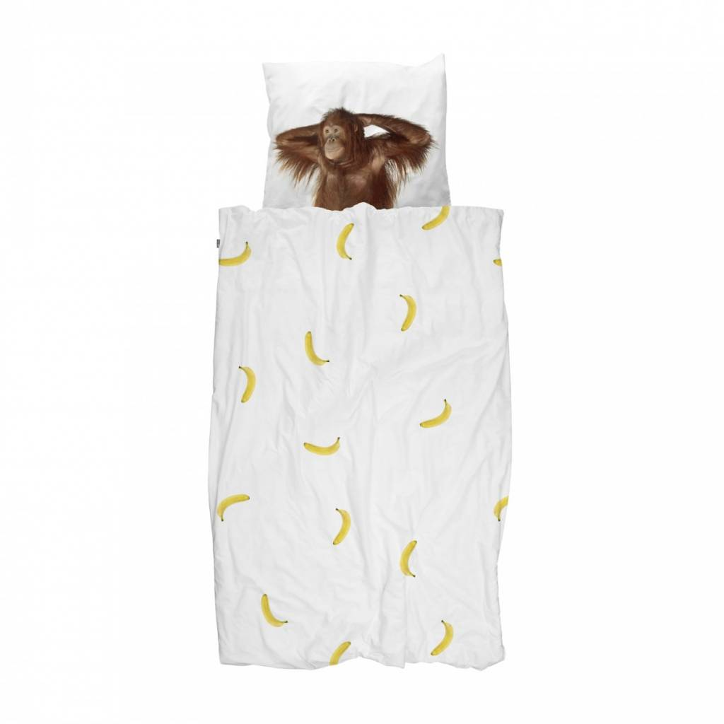 Dekbedovertrek Banana Monkey
