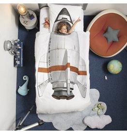 Snurk beddengoed Dekbedovertrek Rocket 1 persoons