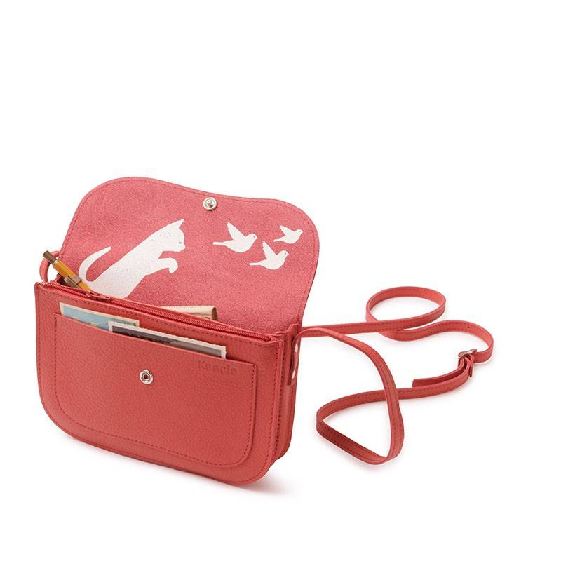 Tas Cat Chase Coral
